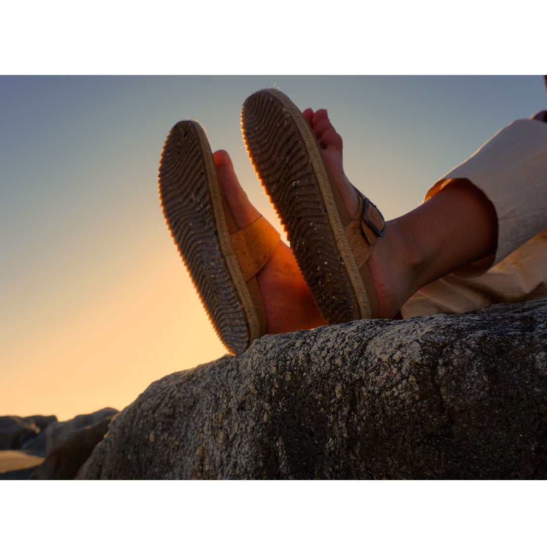 Cork Sandal X | Recycled Cork Sandals