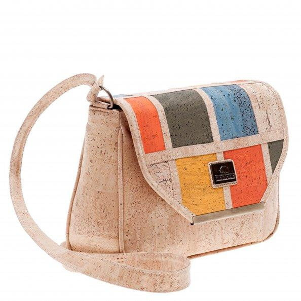 Cork Shoulder Bag Iris - cultura-portuguesa