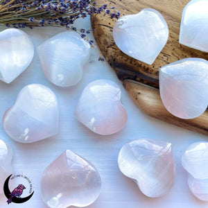 Selenite Heart 3 inch/75 mm