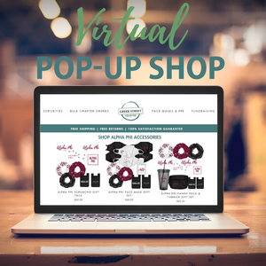 Sorority Fundraising - Virtual Pop-Up Shop