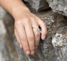 Load image into Gallery viewer, Fashion geometric ring by the ring madam mma83596