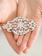Load image into Gallery viewer, Vintage Art Deco Crystal Bridal Brooch by the ring madam