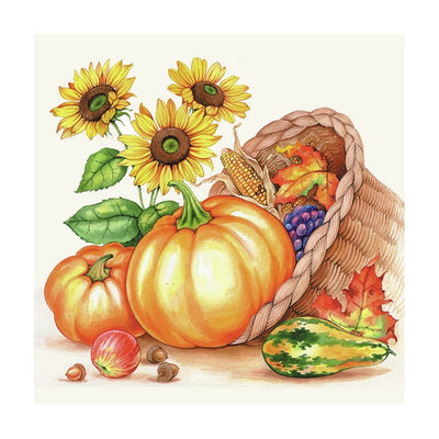 Servietter Pumpkin Basket
