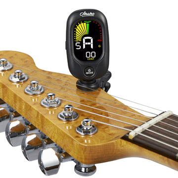 Amumu ACT-350 Clip On Chromatic All Instrument Tuner Guitar, Bass, Violin, Ukulele