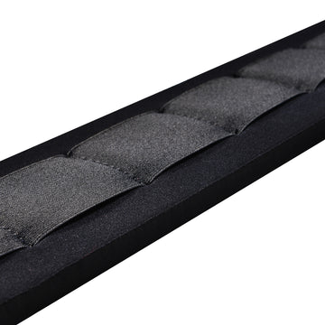 "Amumu SBR Foam Padded Guitar Strap Black - 3.3"" Wide"
