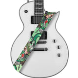 Amumu Dragon Girl Guitar Strap Green Polyester Cotton