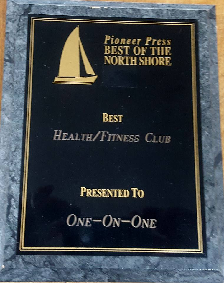Best Personal Training Center Award