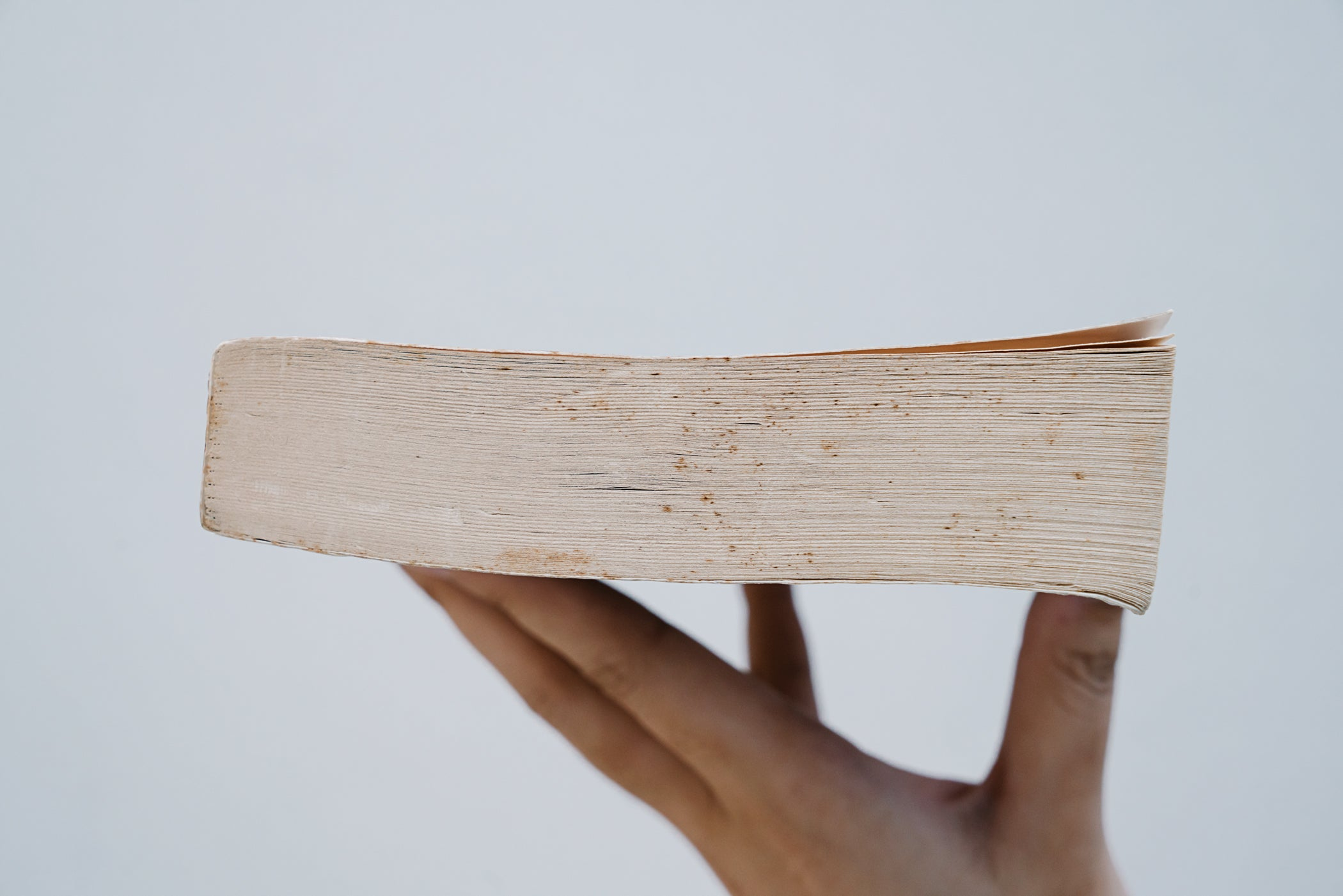 Edges of book in Good condition