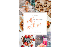 Eat With Em: 55 Healthier Sweet, Home-style, Baking Recipes | E-Book