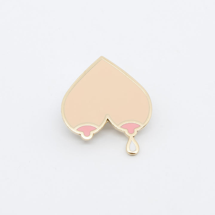 Mama's Milk Collection Dripping Breasts Enamel Pin