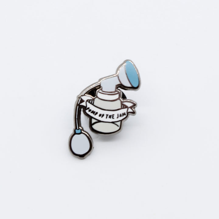 Mama's Milk Collection Pump Up The Jam Enamel Pin