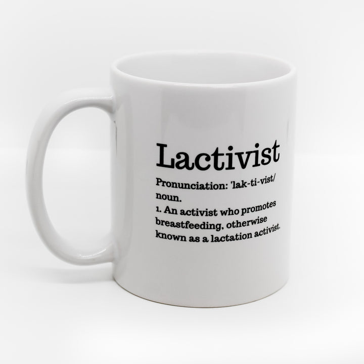 Niplashed Lactivist Coffee Cup