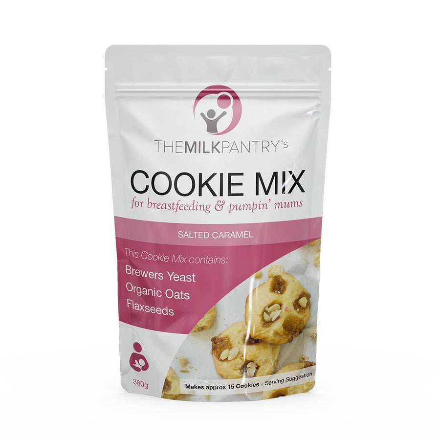 The Milk Pantry Supply Support The Milk Pantry - Salted Caramel Cookie Mix
