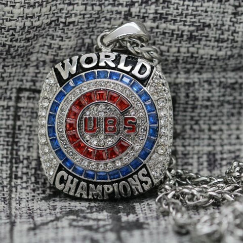 Chicago World Series Championship 2016 Necklace Pendant - Ace Rings