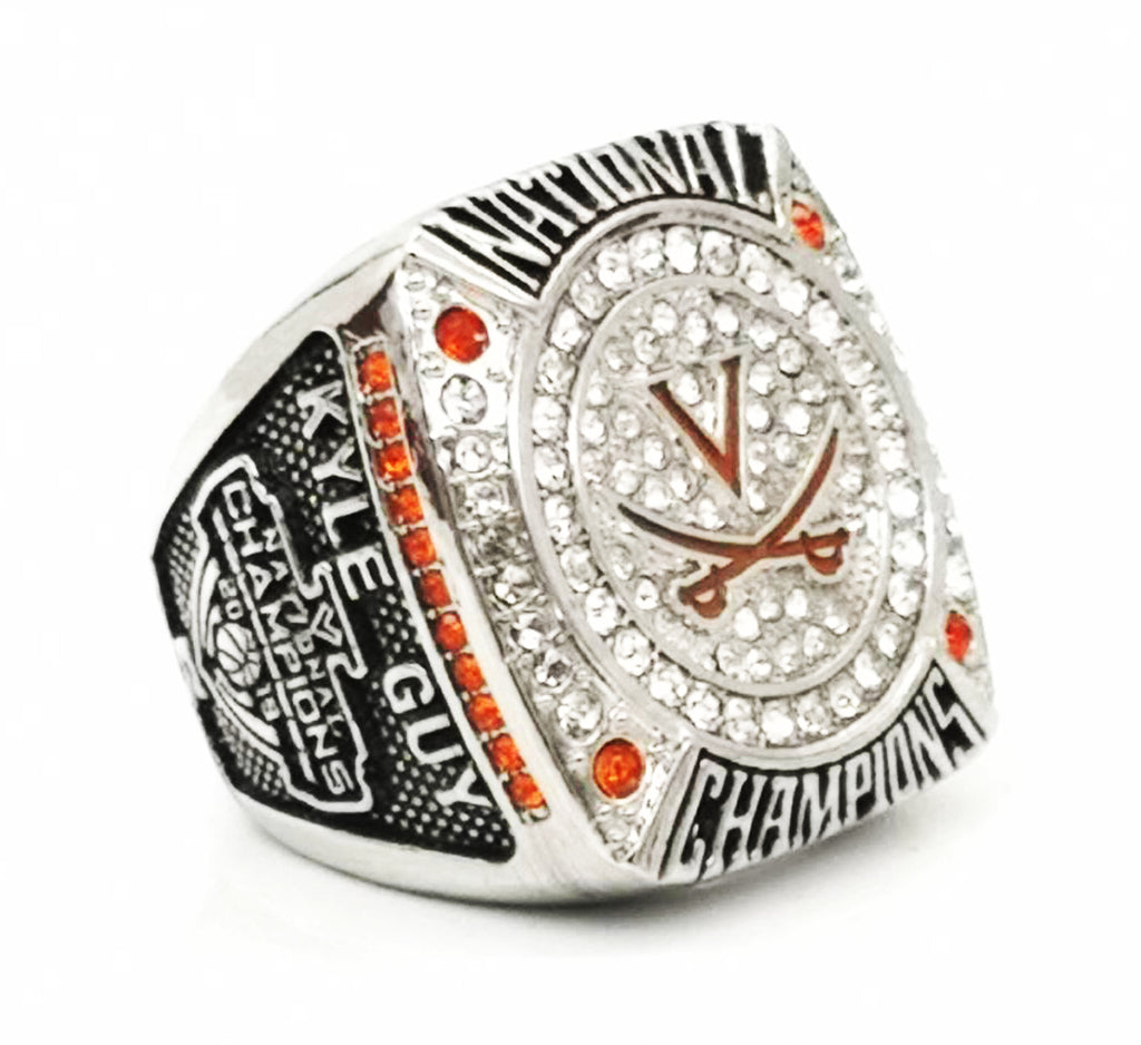 Virginia Cavaliers 2019 National Championship Ring Set - Ace Rings