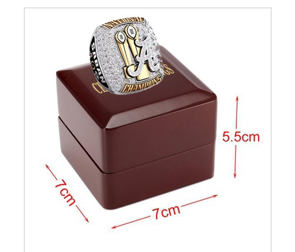 ring fan image alabama tide college design products ncaa rings crimson championship product national