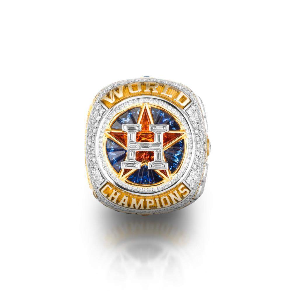 Houston Astros 2017 World Series Championship Ring Set - Ace Rings