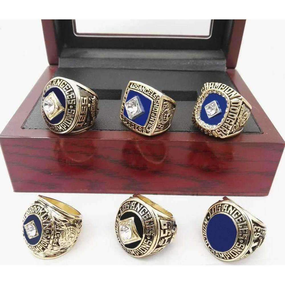 Los Angeles Dodgers World Series Championship Rings Collectors Set