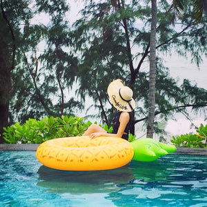 Pineapple Inflatable Pool Float