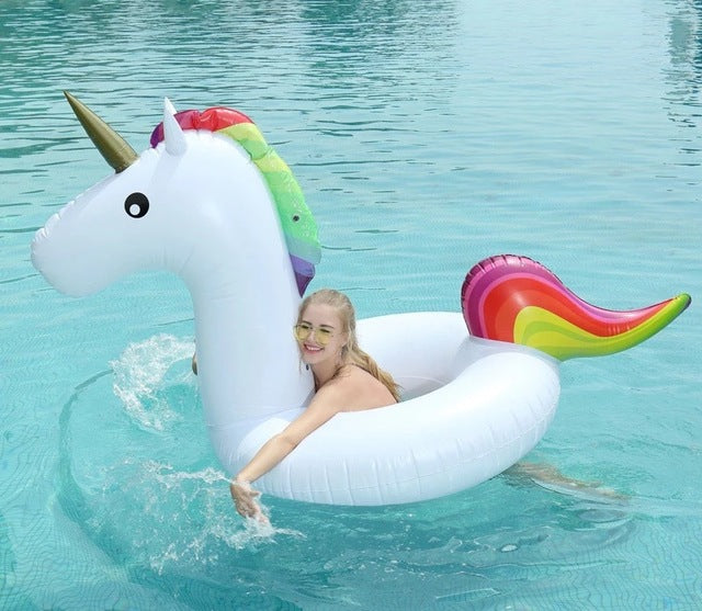 Unicorn Inflatable Pool Float