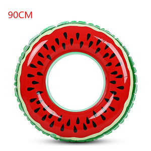 Watermelon Inflatable Swimming Ring