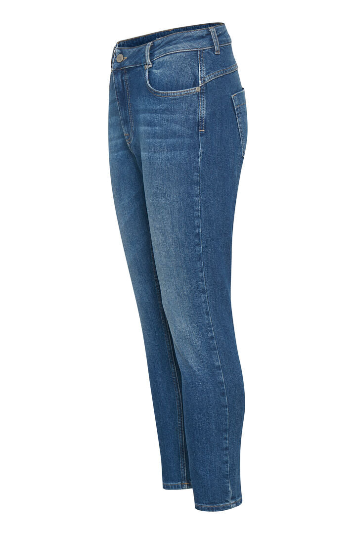Mattie High Waist Denim- Dark