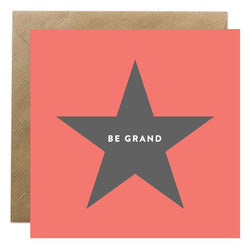 Be Grand Card