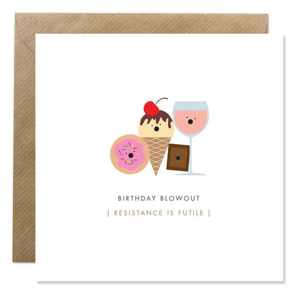 Birthday Blowout Card