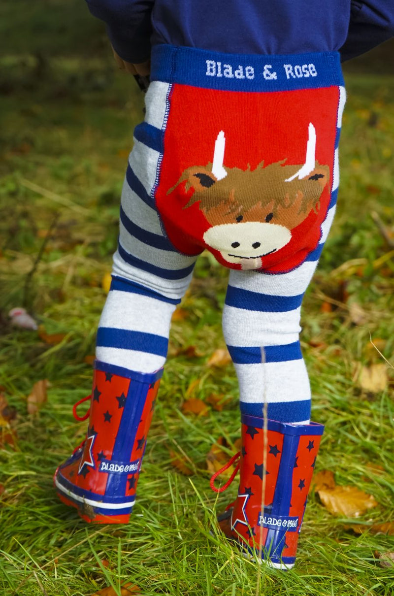 Highland Cow Leggings