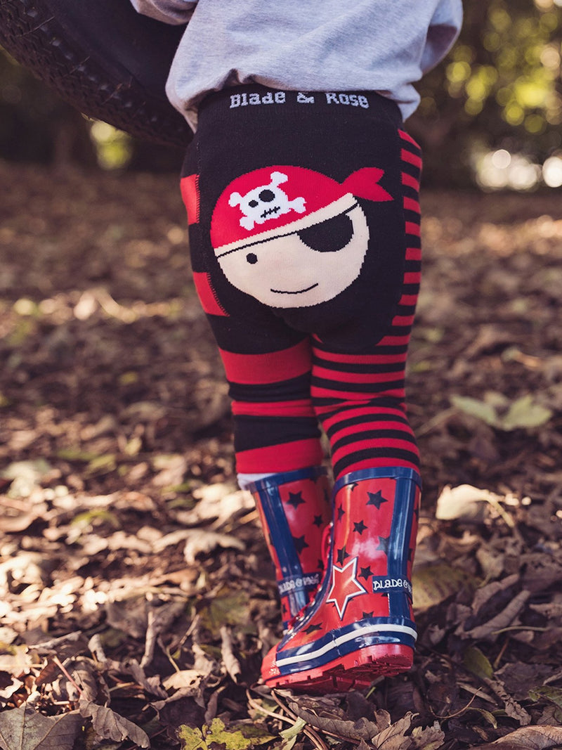 Striped Pirate Leggings