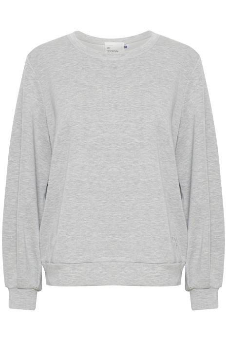 The Sweat Blouse - Grey