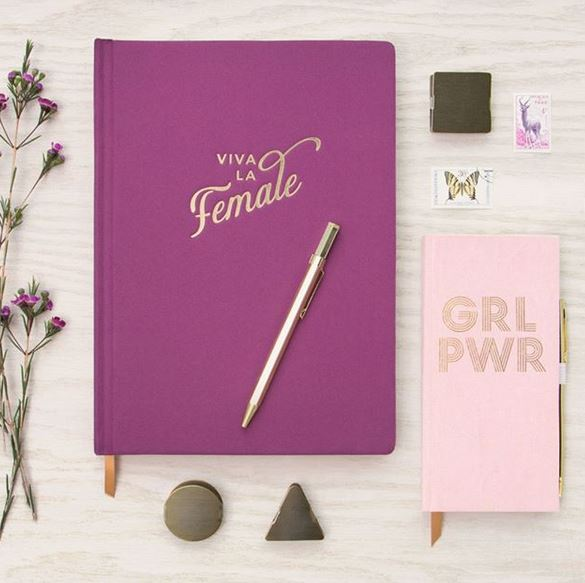 Viva la Female Book cloth Journal