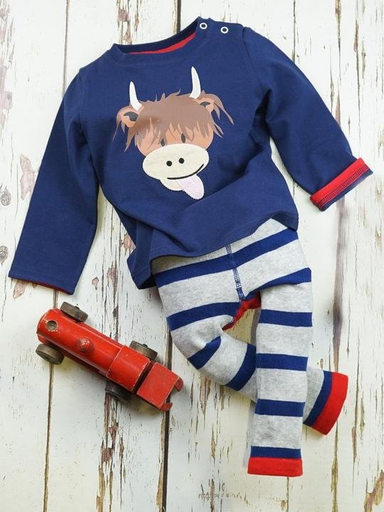 Highland Cow Top