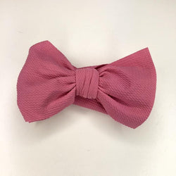 Candy Pink Avery Bow Headband