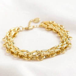 Statement Track Cable Chain Bracelet