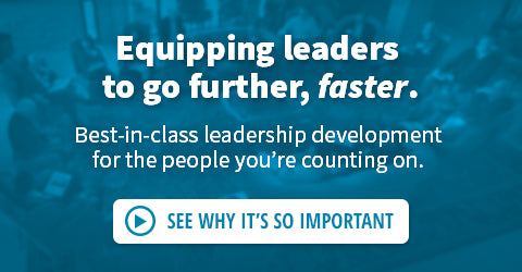 Equipping leaders to go further, faster. Best-in-class training and development for the leaders you're counting on. Why does it matter?