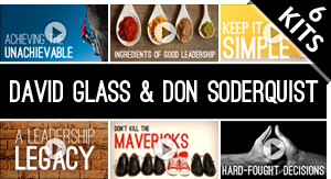 Bundle Featuring: David Glass & Don Soderquist