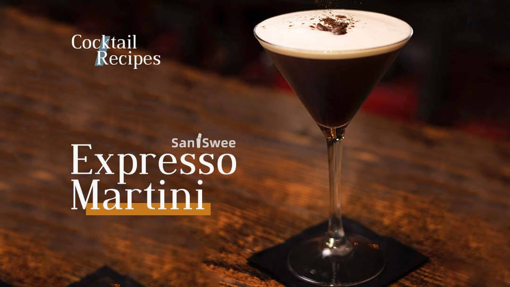 Expresso Martini Cocktail Recipe - SanSwee