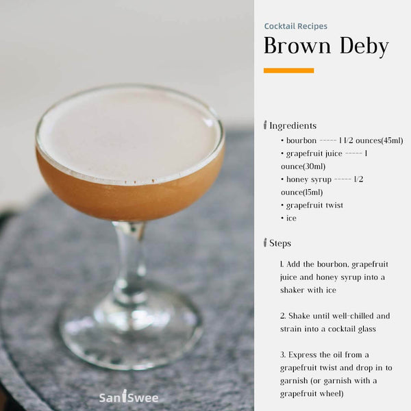 Brown Deby Cocktail Recipes - SanSwee