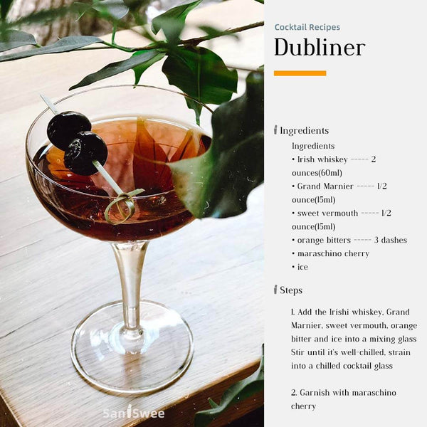 Dubliner Cocktail Recipes - SanSwee