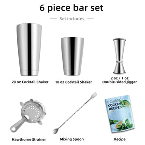 Weighted Cocktail Shaker Kit - SanSwee Outdoor