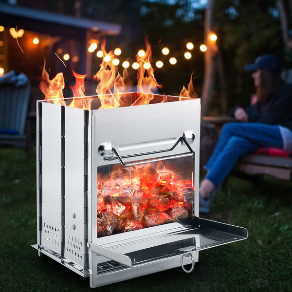 Portable Fire Pit and Camping Stove
