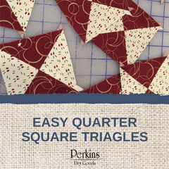 Easy Quarter Quare Triangles