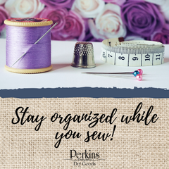 Stay organized while you sew