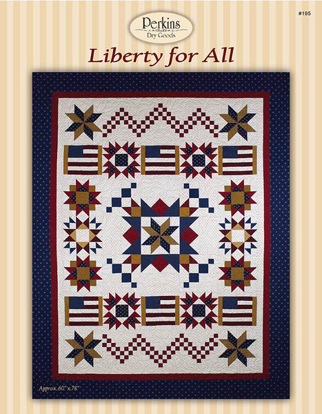 Liberty for All Block of the Month