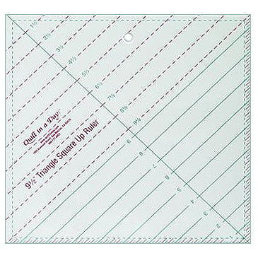 "9-1/2"" Triangle Square Up Ruler"
