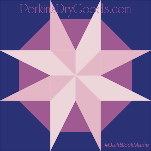 Moon Star Block Pattern PDF
