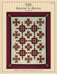 Seasons in Sedona Pattern - BOM