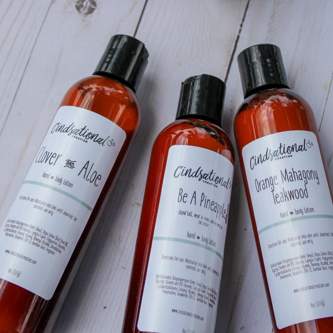 Hand & Body Lotion - Cindsational Creation