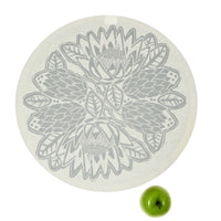 Dish and Bowl Cover Extra Large Protea Print | great for a crowd